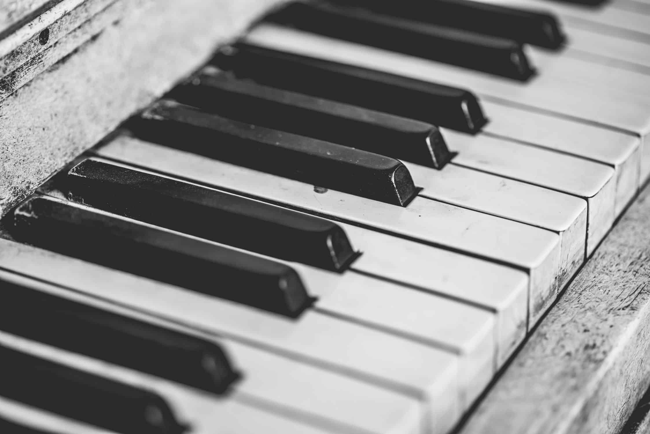 How To Whiten Ivory Piano Keys - Joshua Ross
