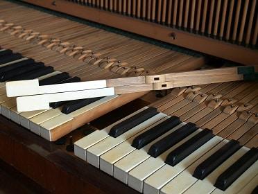 piano rail pins