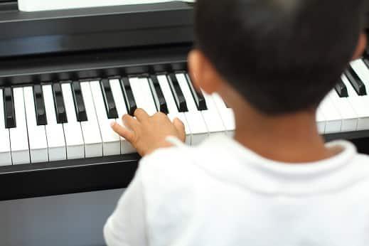hammer action piano keys