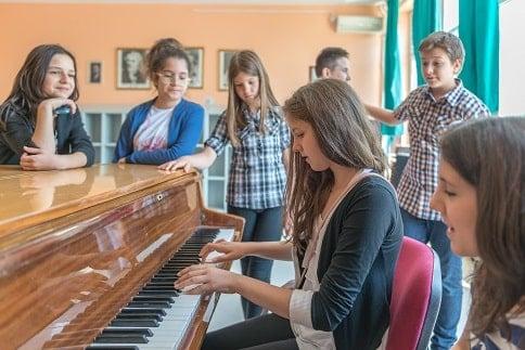 group piano social