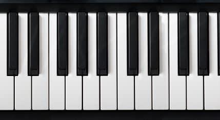 piano key groupings