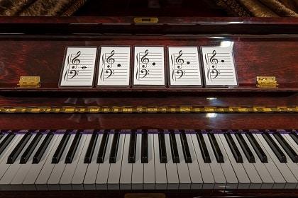 piano flash card game