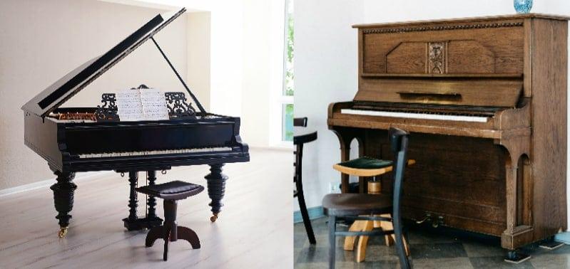 Upright Piano Vs Grand Piano