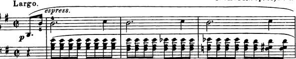 Prelude Op. 28 No. 4 In E Minor